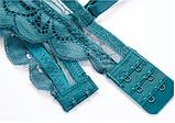 Комплект женского нижнего белья Lux4ika размер 75B классический с нежным кружевами Зеленый (vol-626), фото 2