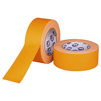 Оранжевый флуорисцентный матовый тейп HPX FLUO GAFFER PRO - 50мм х 25м