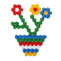 Детская развивающая Мозаика-пазл 350 деталей (20 мм)
