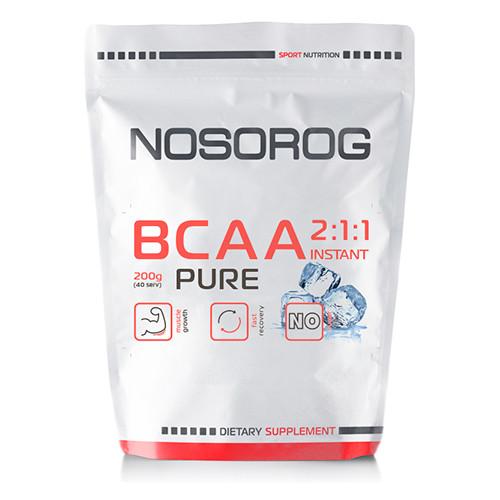 БЦАА Nosorog BCAA 2:1:1 200 г без добавок (NOS1118-03)