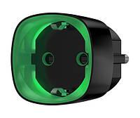 Радиоуправляемая умная розетка со счетчиком энергопотребления и защитой от перегрузки Ajax Socket, Black, фото 1