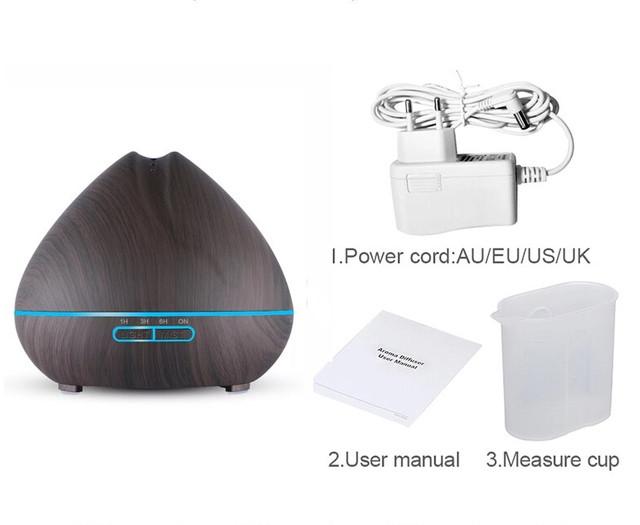 Увлажнитель воздуха для комнаты ультразвуковой 550 мл. Настольный увлажнитель воздуха для дома и офиса
