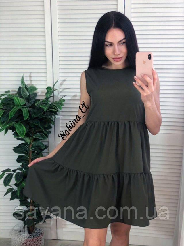 женское платье мини