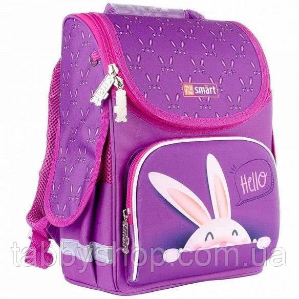 Ранец ортопедический для девочки Smart PG-11 Hello фиолетовый