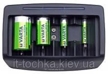 Универсальное зарядное устройство для аккумуляторов aaa, aa, d, c, крона varta charger universal (57648101401)