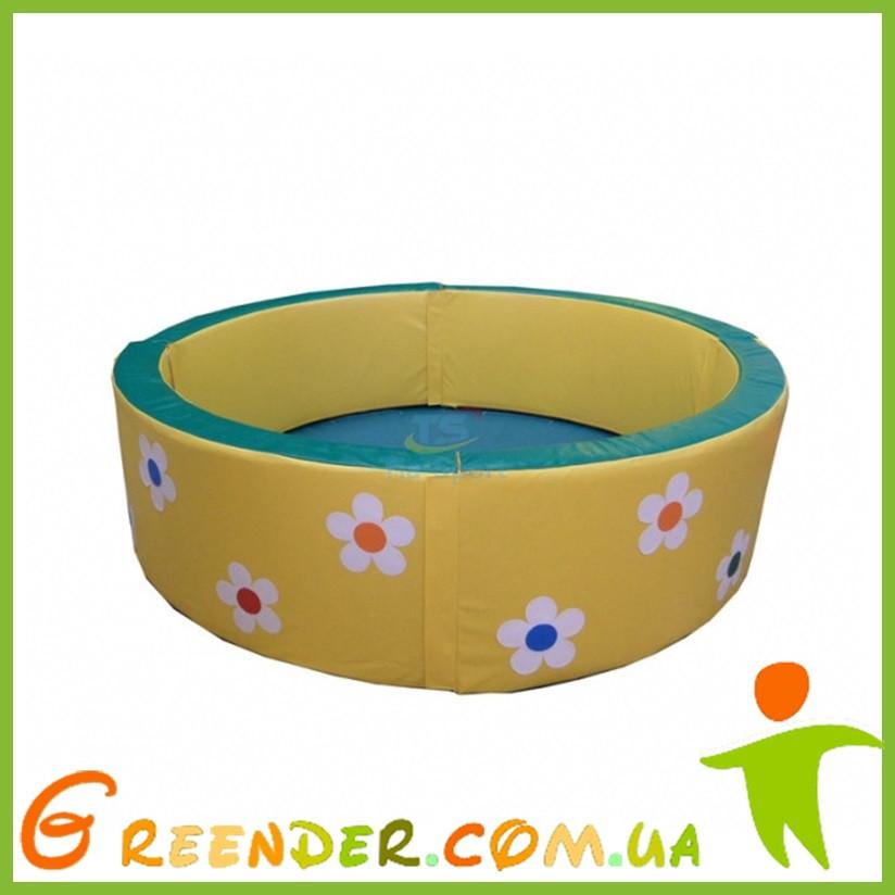Сухой бассейн круглый с аппликацией 200-50 см