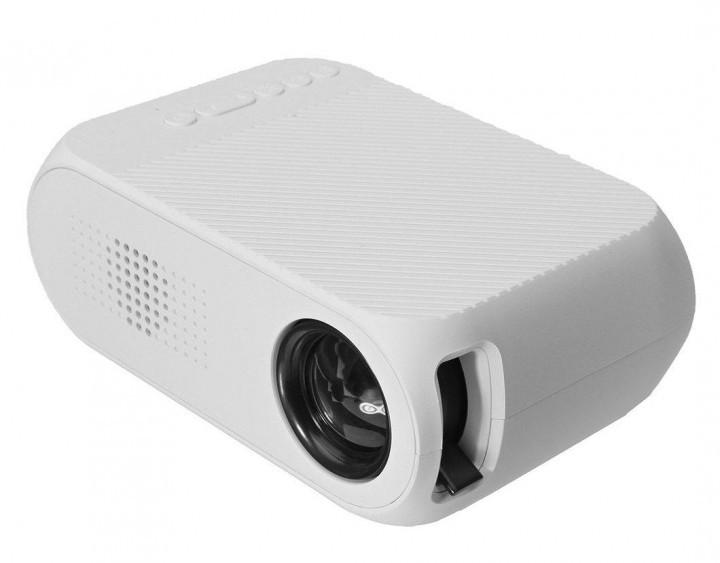 Портативный проектор Projector LED YG-00320 Mini с динамиком Белый (31-SAN003-3)