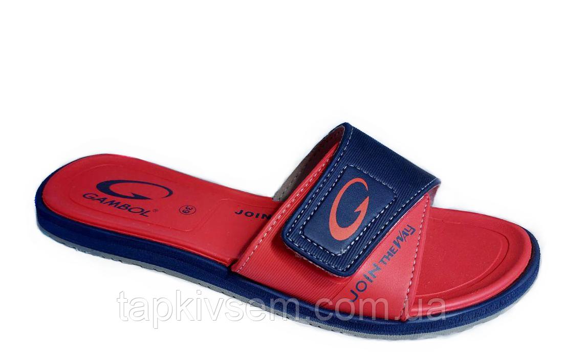 Тапочки женские пляжные Gambol GW-19217(RED )