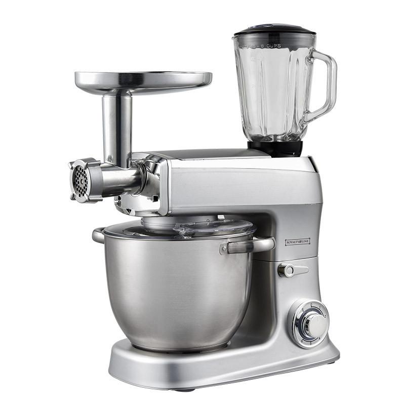 Кухонная машина Royalty Line RL-PKM-2100BG Silver (4250588728919)