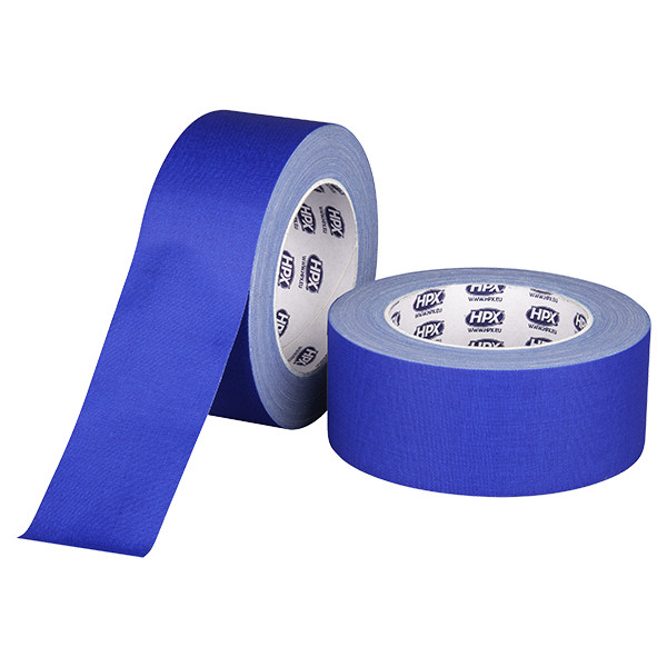 Синий матовый тейп HPX GAFFER PRO - 50мм х 25м
