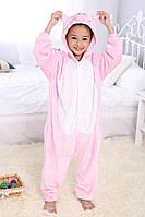 Пижама детская Kigurumba Свинка M - рост 115 - 125 см Розовый с белым K0W1-0044-M, КОД: 1775114