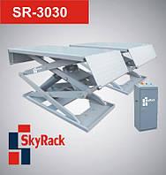 Автомобильный ножничный электрогидравлический подъёмник (передвижной)  SR-3030