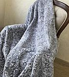 Велюрове стриженое ковдру покривало 200*240, фото 2