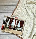 Велюровое стриженое одеяло покрывало 200*240, фото 2
