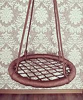 """Качели """"гнездо аиста"""", коричневая, 75см"""