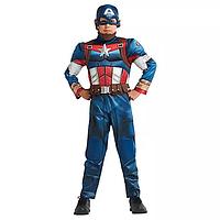Карнавальный костюм «Мстители» Капитан Америка. Дисней. DISNEY 2020