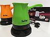 Кофеварка электрическая турка SuTai 168 600W 0.5л белая, фото 2