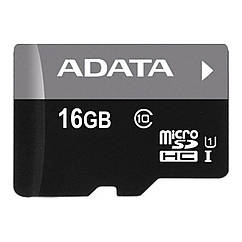 Карта памяти Adata MicroSDHC 16GB UHS-I Class 10 Черно-серый 3562-9908, КОД: 1452211