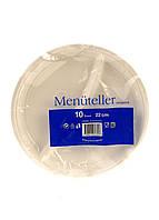 Набор одноразовых пластиковых тарелок ALDI 10 штук Белый R2-11015901, КОД: 1705007
