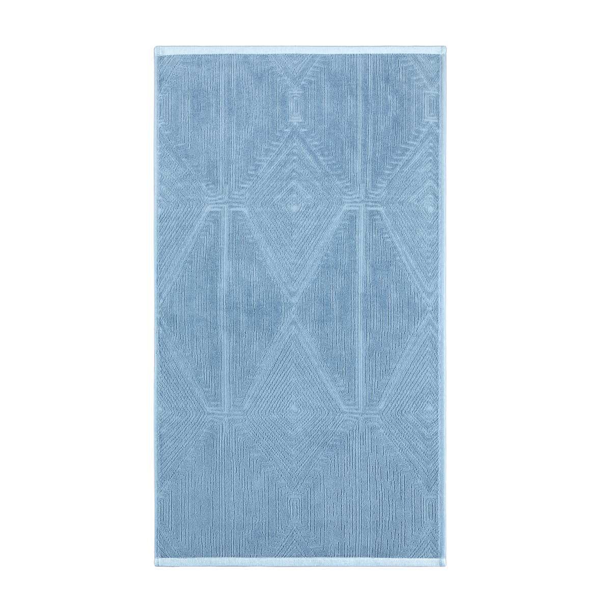 Полотенце Arya жаккард бархат 50x90 Fuji (A106964) Аква