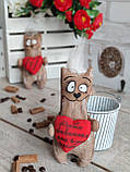 Кот с пожеланиями, кот кофе, какао, корица, 16*9 см, 65/85 (цена за 1 кота. + 20 гр.), фото 7