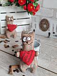 Кот с пожеланиями, кот кофе, какао, корица, 16*9 см, 65/85 (цена за 1 кота. + 20 гр.), фото 8