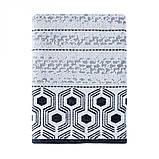 Полотенце Arya Жаккард Бархатное 50x90 Nanga (A106965) Черный, фото 2