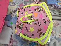 Летние детские шорты для девочки р. 86 - 104