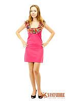 Жіноча Сукня-Сарафан рожева Т3 (44-46) «Yuka»(Франція)