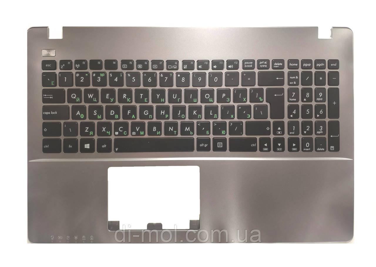 Оригинальная клавиатура для ноутбука Asus X550, K550V, Y582, X552E, A550L, Y581C, F550, R510JK передняя панель