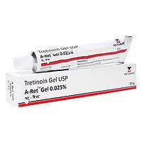 Третиноин гель для проблемной кожи  A-ret gel 0,025%, 20г.