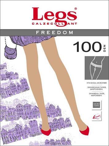 Колготки LEGS FREEDOM 100  100, 1/2, TABACO (коричневый), фото 2