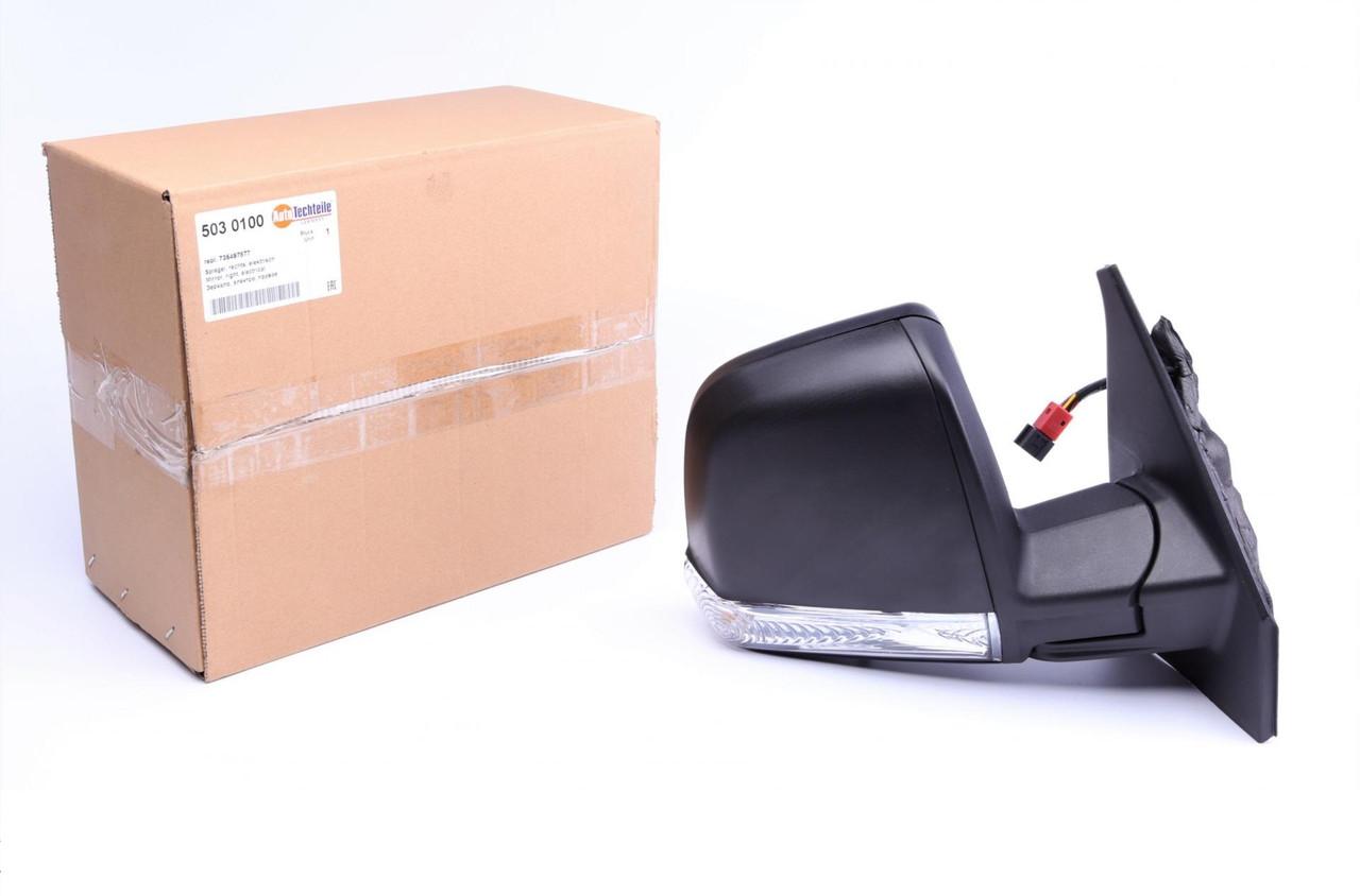 Дзеркало заднього виду праве (електро) (бокове, зовнішнє) Fiat Doblo 09-/Opel Combo 12-
