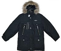 """Куртка """"Аляска"""" для мальчика на пуховой подстежке"""