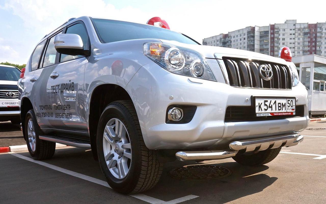 Защита переднего бампера Can Oto для Toyota Land Cruiser 150 2009-2013