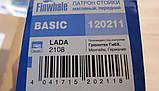 Амортизатор ВАЗ 2108-21099, 2113-2115 вставной патрон масляный BASIC передний FINWHALE, фото 3