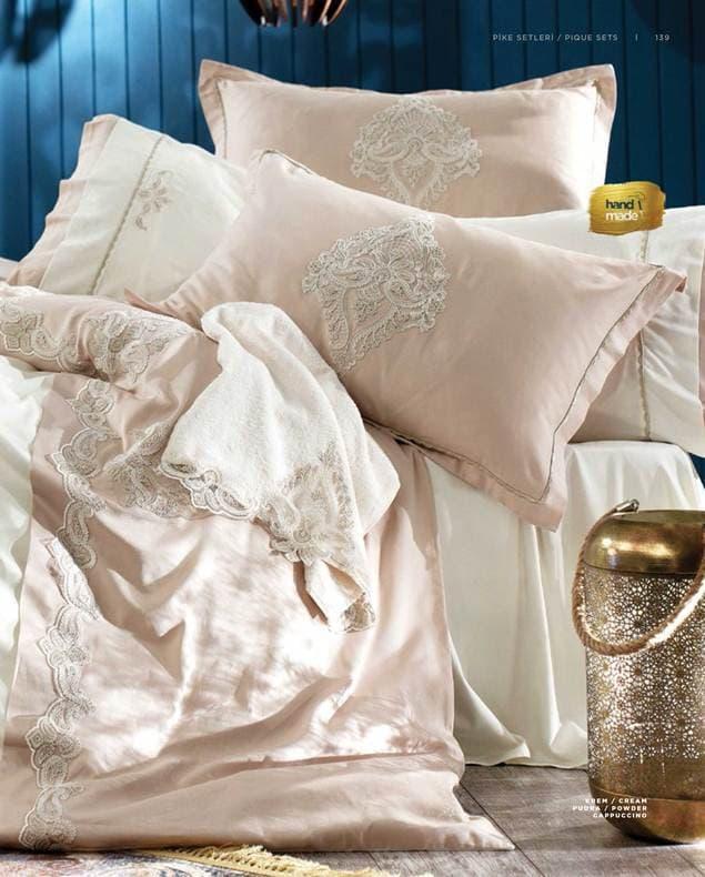 Постельный комплект с покрывалом Zebra Casa Paisley 2018 двуспальный - евро, 240*260