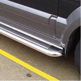 Пороги майданчик нерж. Can Otomotiv для Hyundai Tucson