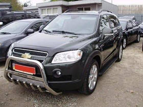 Кенгурятник Can otomotive для Chevrolet Captiva