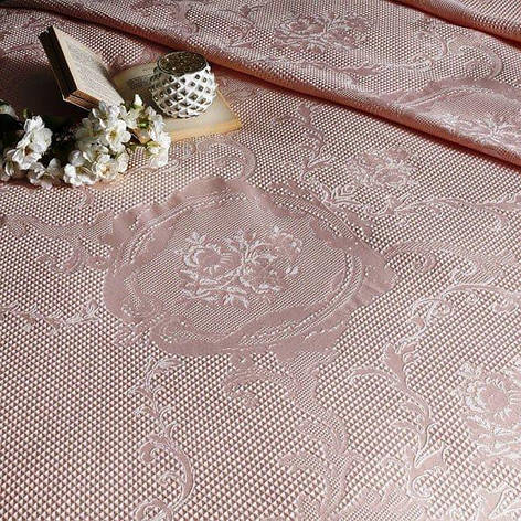 Постельный комплект TAC Jakar pike Rosa двуспальный - евро, фото 2