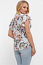 Блуза летняя большого размера Алина (4 цвета), фото 2