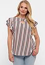 Блуза летняя большого размера Алина (4 цвета), фото 9