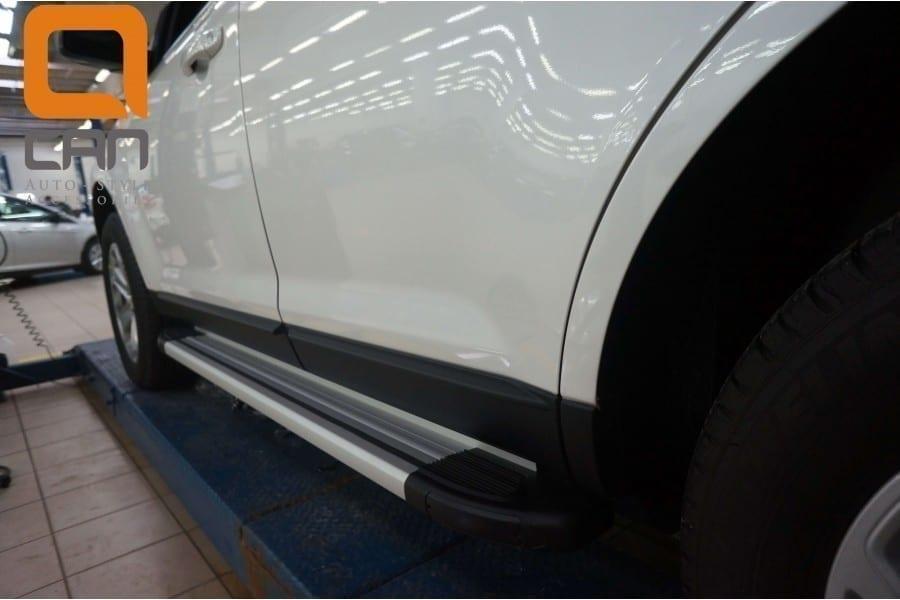 Пороги подножки боковые Can Oto Brillant для Ford Ranger 2012+