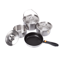 Набор посуды Kovea All-3PLY Stainles Cookware(7~8) KKW-CW1105 (8806372095796)