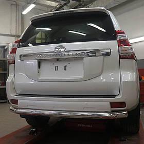 Защита заднего бампера Toyota Land Cruiser 150 2009-2013/2013-2017/2018+) (одинарная) d 60
