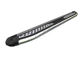 Пороги бічні підніжки Can Oto Plus для Lifan X60 2013+