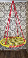 """Качели """"гнездо аиста"""", красно-желтая, 100см"""