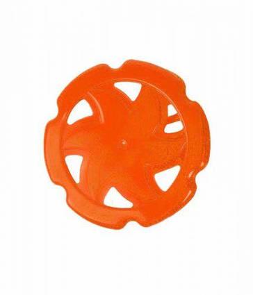 Летающий  диск (фрисби) оранжевый 4050
