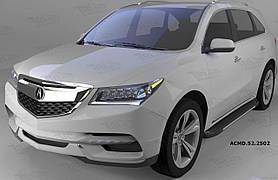 Пороги алюминиевые (Another) Acura MDX (2014-)
