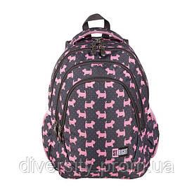 """Подростковый школьный рюкзак BP-06 """"DOGGIES""""  ST.RIGHT 625626"""